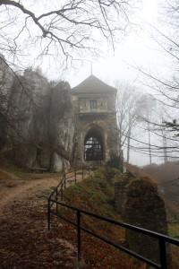 Zwiedzanie Ojcowa - Ruiny Zamku